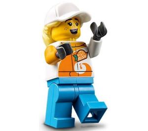 LEGO Female Stuntz Crew Minifigure