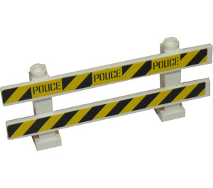 LEGO Fence 1 x 8 x 2 with Crime Scene Tape Sticker (6079)