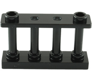 LEGO Fence Spindled 1 x 4 x 2 with 2 Top Studs (30055)