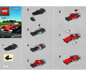 LEGO Ferrari F138 Set 40190 Instructions