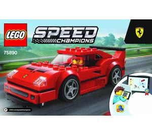 Lego Ferrari F40 Competizione 75890 Instructions Brick Owl Lego Marktplatz
