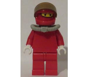 LEGO Ferrari Truck Crew Member with Scuba Tank (without Torso Stickers) Minifigure