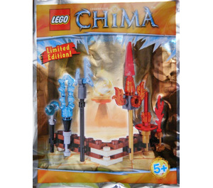 LEGO Fire and Ice weapons (LOC391504)