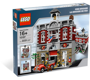 LEGO Fire Brigade Set 10197 Packaging