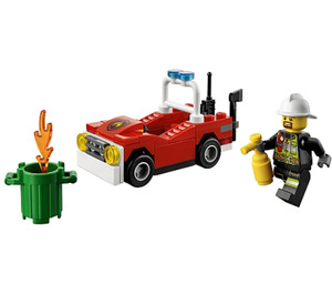 LEGO Fire Car Set 30347
