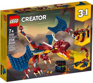 LEGO Fire Dragon Set 31102 Packaging