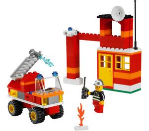 LEGO Fire Fighter Building Set 6191