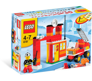 LEGO Fire Fighter Building Set 6191 Packaging