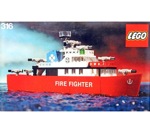LEGO Fire Fighting Launch Set 316-1