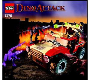 LEGO Fire Hammer vs. Mutant Lizards Set 7475 Instructions