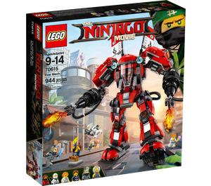 LEGO Fire Mech Set 70615 Packaging