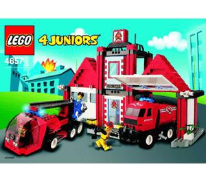 LEGO Fire Squad HQ Set 4657 Instructions