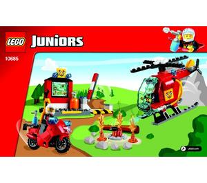 LEGO Fire Suitcase Set 10685 Instructions
