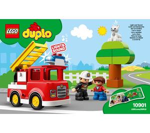 LEGO Fire Truck Set 10901 Instructions