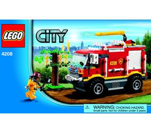 LEGO Fire Truck Set 4208 Instructions