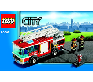 LEGO Fire Truck Set 60002 Instructions