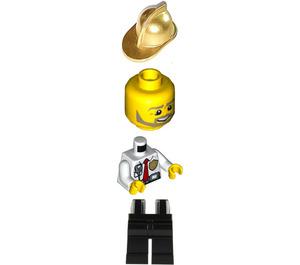 LEGO Firefighter Minifigure