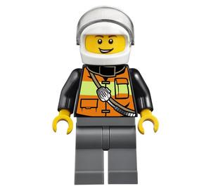 LEGO Fireman Pilot Minifigure
