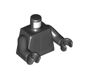 LEGO First Order Crew Member Minifig Torso with Black Arms and Black Hands (973 / 76382)