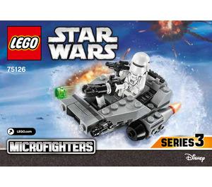 LEGO First Order Snowspeeder Microfighter Set 75126 Instructions