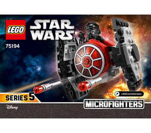 LEGO First Order TIE Fighter Microfighter Set 75194 Instructions