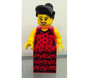 LEGO Flamenco Dancer Minifigure