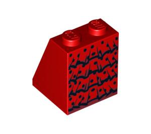 LEGO Flamenco Dancer Slope 65° 2 x 2 x 2 with Centre Tube (3678 / 99759)