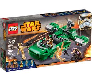LEGO Flash Speeder Set 75091 Packaging