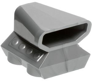 LEGO Flat Silver Car Engine 2 x 2 with Air Scoop (50943)