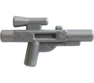 LEGO Flat Silver Minifig Gun Short Blaster (58247)
