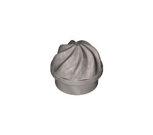 LEGO Flat Silver Plate 1 x 1 Round with Swirled Top (15470)