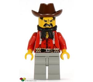 LEGO Flatfoot Thompson bandit Minifigure