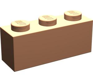 LEGO Flesh Brick 1 x 3 (3622)