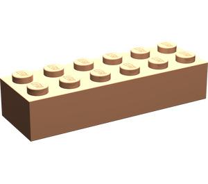 LEGO Flesh Brick 2 x 6 (44237)