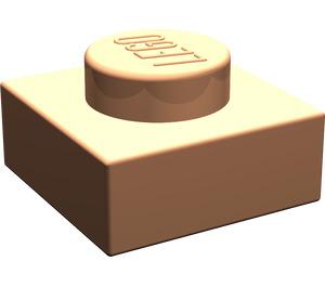 LEGO Flesh Plate 1 x 1 (3024)