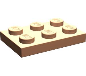 LEGO Flesh Plate 2 x 3 (3021)