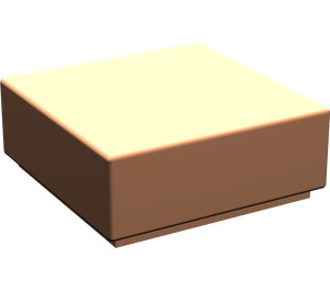 LEGO Flesh Tile 1 x 1 with Groove (3070)