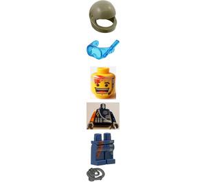 LEGO Flex, Alpha Team Outfit Minifigure