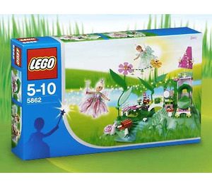 LEGO Flower Fairy Party Set (Blue Box) 5862-1 Packaging