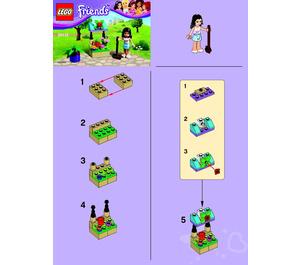 LEGO Flower Stand Set 30112 Instructions