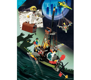 LEGO Flying Time Vessel Set 6493 Instructions
