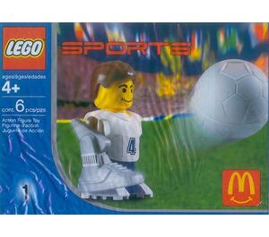 LEGO Football Player, White Set 7923