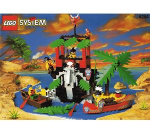 LEGO Forbidden Cove Set 6264 Instructions