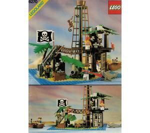LEGO Forbidden Island Set 6270 Instructions