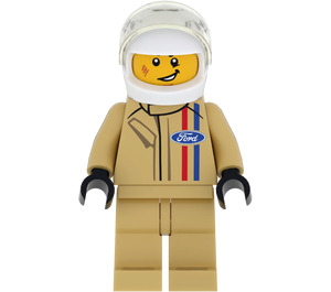 LEGO Ford 1966 GT40 Driver Minifigure
