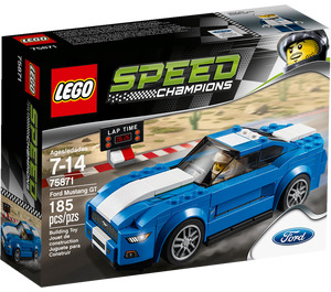 LEGO Ford Mustang GT Set 75871 Packaging