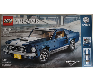 LEGO Ford Mustang Set 10265 Packaging