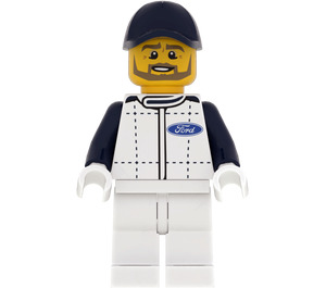 LEGO Ford Race Official Minifigure