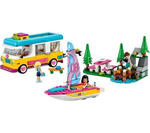 LEGO Forest Camper Van and Sailboat Set 41681