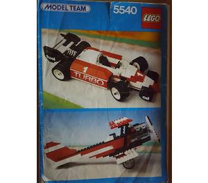 LEGO Formula 1 Racer Set 5540 Instructions